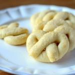 Vanilla Pretzel Butter Cookies ( & a Giveaway!)