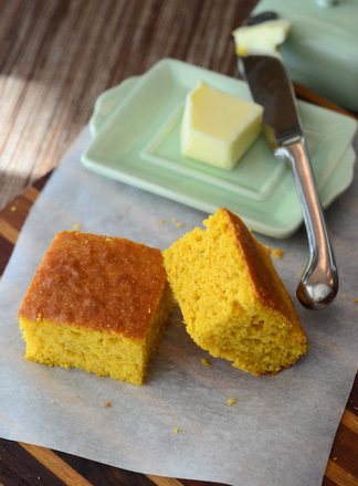 Homemade Pumpkin Cornbread