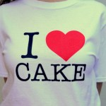 I Heart Cake Tee's from Baking Bites