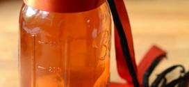 Homemade Orange, Vanilla and Clove Vodka