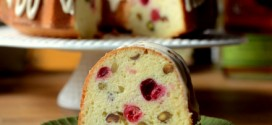 Cranberry Pistachio Pound Cake