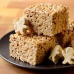 Gingerbread Rice Krispy Squares