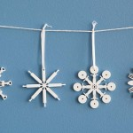 Kitchen Tool Snowflake Ornaments