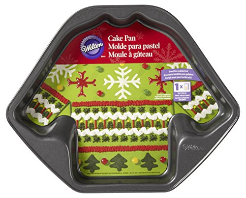 Wilton Ugly Christmas Sweater Cake Pan Baking Bites