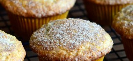 Oatmeal Snickerdoodle Muffins