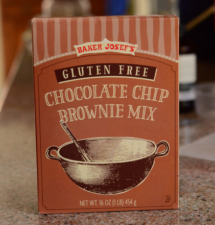 Trader Joe's Gluten Free Chocolate Chip Brownie Mix