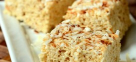 Toasted Coconut Rice Krispy Treats