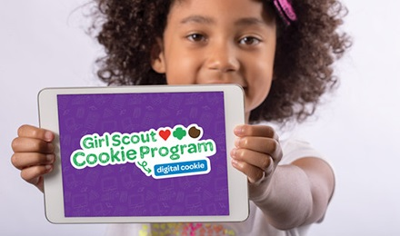 girl scout cookie sales go online with digital cookie app