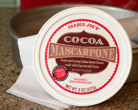 Trader Joe's Cocoa Mascarpone Cheese