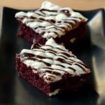Red Velvet Rocky Road Cake