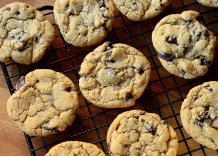 Salted Brown Butter Chocolate Chip Cookies | Baking Bites