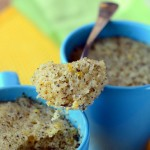 Earl Grey and Lemon Mug Cake