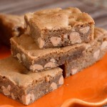 Butterscotch and Peanut Butter Blondies