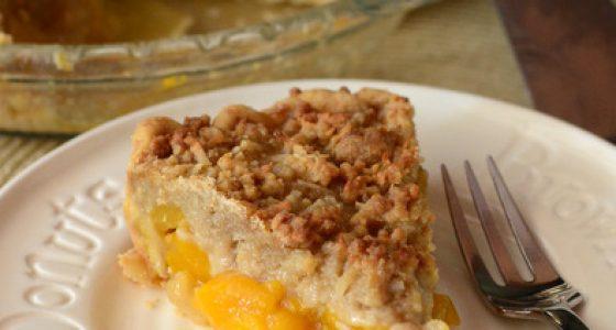 Mango Crumble Pie