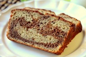 Milk Chocolate Swirl Banana Bread