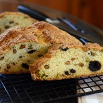 Cherry and Pistachio Irish Soda Bread