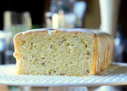 Lemon and Lavender Tea Cake