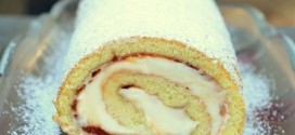 Guava and Cream Cheese Jelly Roll