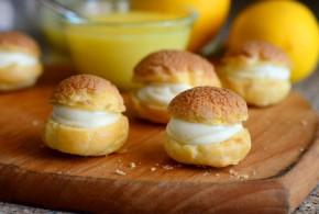 Lemon Curd Cream Puffs