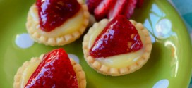 Strawberry & Lemon Curd Tartlets