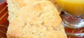 Meyer Lemon Coconut Scones