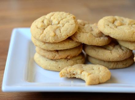 Salted peanut cookies recipes