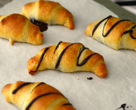 Pillsbury Crescent Rolls with Hershey's