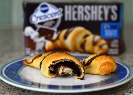 Pillsbury Crescent Rolls with Hershey's, reviewed