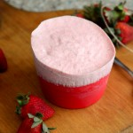Perfect Summer Dessert: Frozen Strawberry Souffles