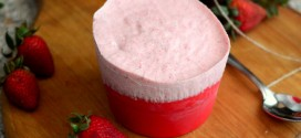 Baking Bites for Craftsy: Frozen Strawberry Souffles