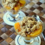 Skillet Peach and Mango Crisp