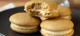 Brown Sugar Whoopie Pies with Dulce de Leche Filling