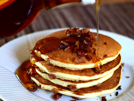 recipe: savory buttermilk pancakes [16]