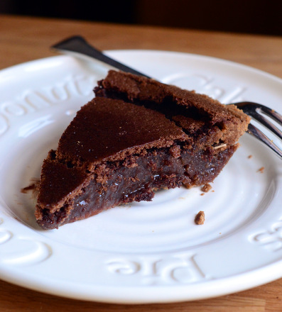 Chocolate Cinnamon Chess Pie