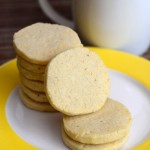 Vanilla Bean Cornmeal Cookies