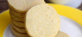 Vanilla Bean Cornmeal Slice and Bake Cookies