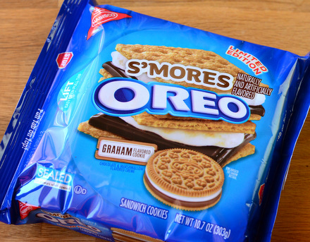 Limited Edition S'mores Oreos, reviewed