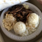BBQ Pork Plate Lunch at Rainbow Drive-In, Honolulu, HI