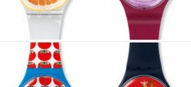 Vibrant Veggies in the Swatch Mediterranean Dolce Vita Collection