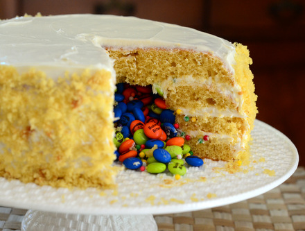 Baking Bites for Craftsy: How to Make a Piñata Cake