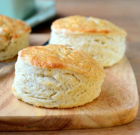Honey Glazed Buttermilk Biscuits