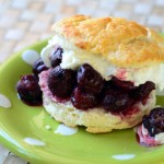 Cherries Jubilee Shortcake