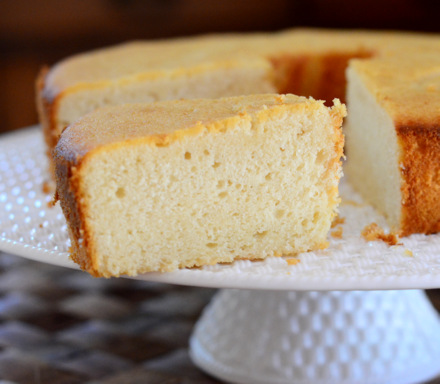 Vanilla & White Chocolate Cake
