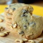 Chocolate Chip & Cashew Cookies