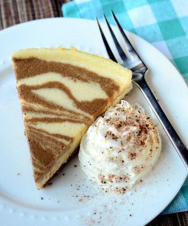 Coffee-Swirl Cheesecake