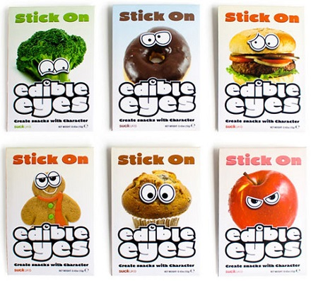 Stick On Edible Eyes