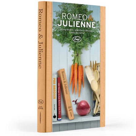 Romeo and Juilenne Cutting Board