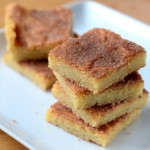 Baking Bites for Craftsy: Snickerdoodle Bars