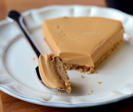 No Bake Dulce de Leche Cheesecake