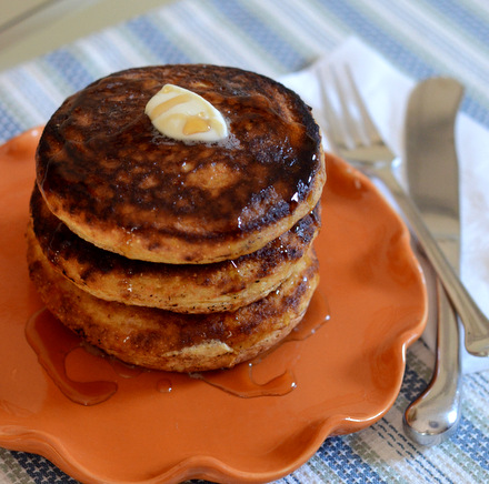 Hoecakes with Maple Butter